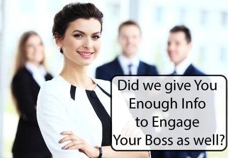 Killer Boss Engagement?