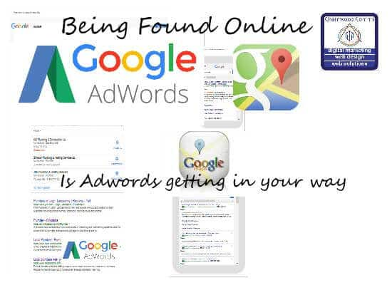 Being found online – Is Adwords getting in your way