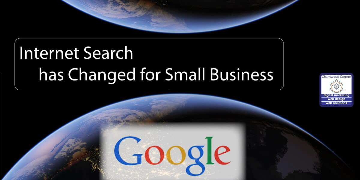 How Internet Search has Changed for Small Business