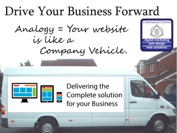 Your website is like a Company Vehicle.