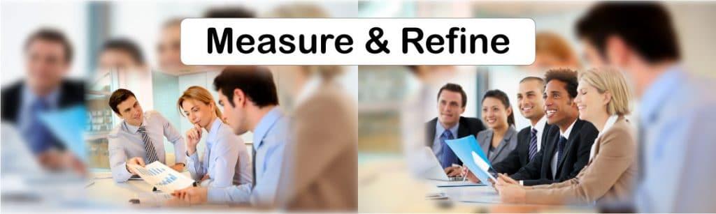 Digital Marketing campaign Elements - Measurement & Refine